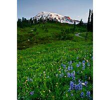 Mountain Dawn Photographic Print