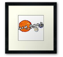 3rd rock from the sun Framed Print