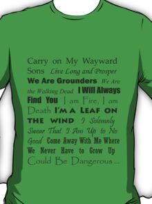 Multi Fandom Anthem 2 T-Shirt