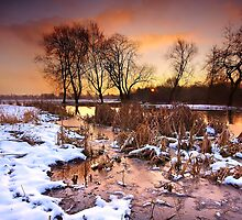 Frozen Sunrise by Andrew Leighton