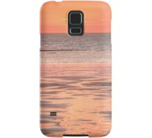 Cable beach sunset colours Samsung Galaxy Case/Skin