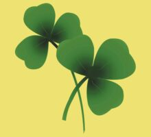 Lucky Shamrock - Saint Patrick's Day by Orla Cahill