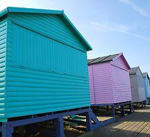 Beach Huts by Rhys Herbert
