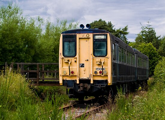 Prototype Pacer 140001 at Keith and Dufftown Railway by David J Knight
