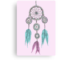 Tumblr Dreamcatcher Canvas Print