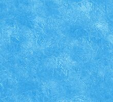 Abstract blue icy geometric background by Mallorn