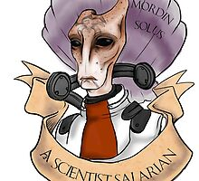 a scientist salarian by aleushadrake