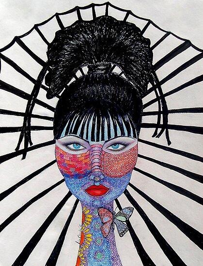 Self Portrait by funkyfacestudio