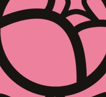 Rose Crest Sticker