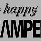 happy camper by Vana Shipton
