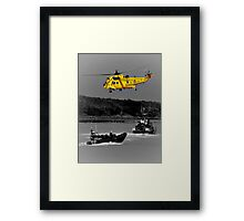 Emergency Which Service Framed Print