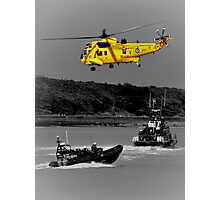 Emergency Which Service Photographic Print