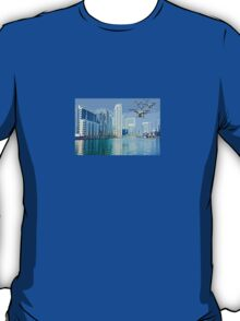 Drone swarm over the Docklands! T-Shirt