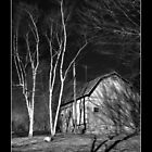 Conneticut Barn I (B&W 1) by carlina999