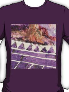 Acrylic Purple Triangle T-Shirt