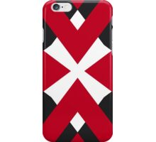 Red Flashes iPhone Case/Skin
