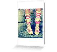 sneakers-n-socks Greeting Card