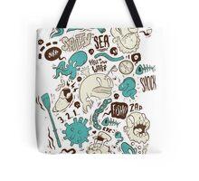 Salty Sea Tote Bag