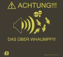 Achtung! Das Uber Whaumpf Yellow by David Avatara