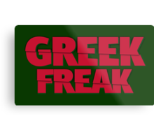 Greek Freak Metal Print