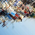 Fishing Boats at Brighton Marina  by pcimages