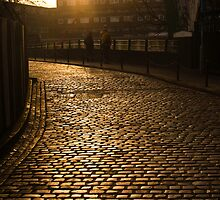 Cobbles at Sunrise by Paul Davey