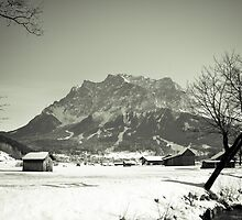 Leading to the Zugspitze by Shane Silberberger