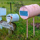 Country roadside post boxes by indiafrank