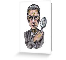 Twelve and His Spoon Greeting Card