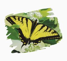 Swallowtail Butterfly Feeding Kids Clothes