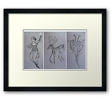 Scottish Symbols Framed Print