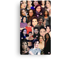 Lana Parrilla collage Canvas Print