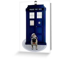 Dogtor Who (no text) Greeting Card