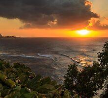 Bali Hai Sunset by James Eddy