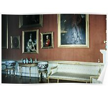 A collection of Ming vaases in Gallery Harewood House 1759 1771 West Yorkshire England 198406030024 Poster