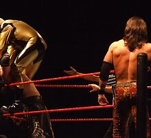 Gold Dust, The Miz & John Morrison by Dawn Palmerley