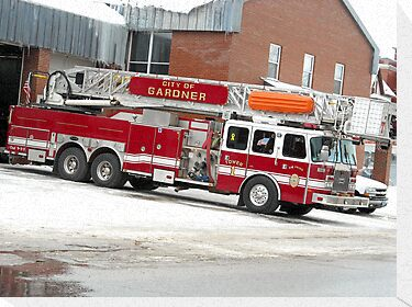 Tower 1 Engine Gardner MA by Rebecca Bryson