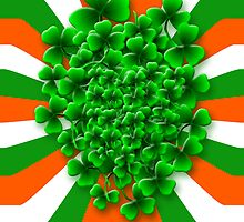 Friendly Irish Shamrock by Orla Cahill