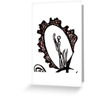 Feminine Language Greeting Card