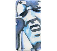 Blue Elvis iPhone Case/Skin