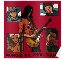 Mongolian Chop Squad Poster