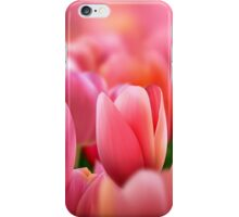 Modern Art Smart Stylish Wall Art Pink Tulips iPhone Case/Skin