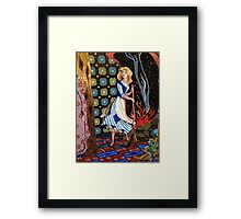 Cinderella Castle Mosaic Framed Print