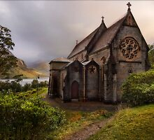 The Church of St. Mary and St. Finnan, Glenfinnan by eddiej
