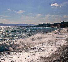 Mediterranean coast  by GOSIA GRZYBEK