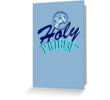 Holy Priest WoW Greeting Card