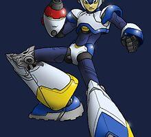 Megaman X - Light Armor by Deezer509