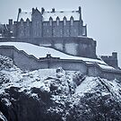 EDINBURGH CASTLE III by Chris Clark