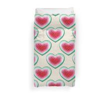 Summer Love - Watermelon Heart Duvet Cover
