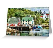 Northwest Cove, Nova Scotia Greeting Card